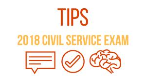 Tips in Civil Service Exam