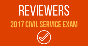 Reviewers in Civil Service Exam